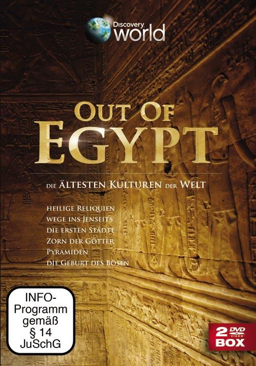 DVD Cover: Out of Egypt