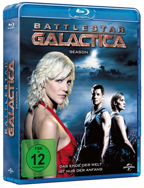 DVD Cover: Battlestar Galactica - Staffel 1