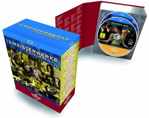 DVD Cover: 18 Meisterwerke - Luxusedition