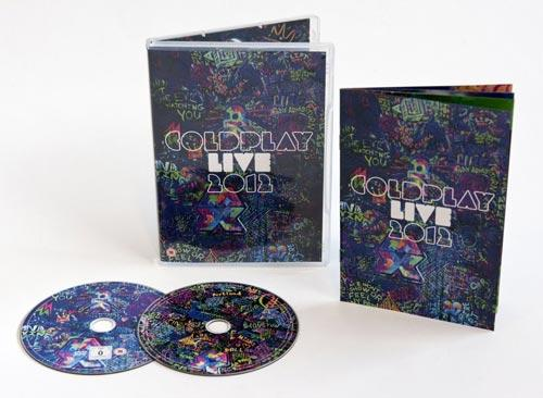 DVD Cover: Coldplay - Live 2012 - Limited Edition