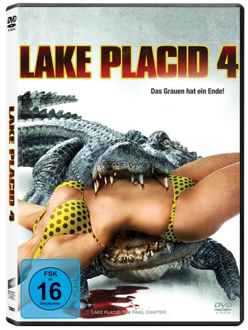 DVD Cover: Lake Placid 4