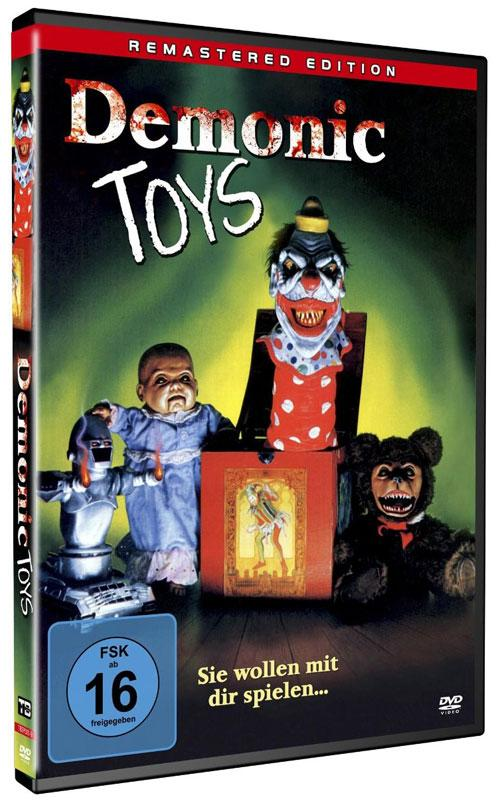 DVD Cover: Demonic Toys - Remastered Edition