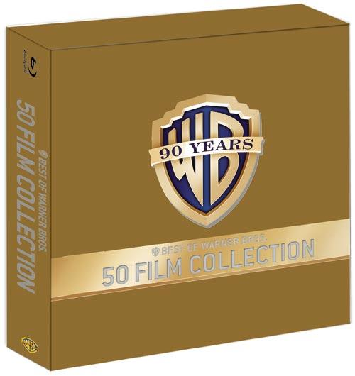 DVD Cover: 90 Jahre WB Jubiläums-Edition - 50 Film Collection