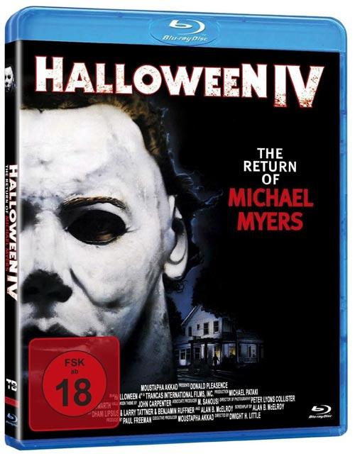 DVD Cover: Halloween IV - The Return Of Michael Myers