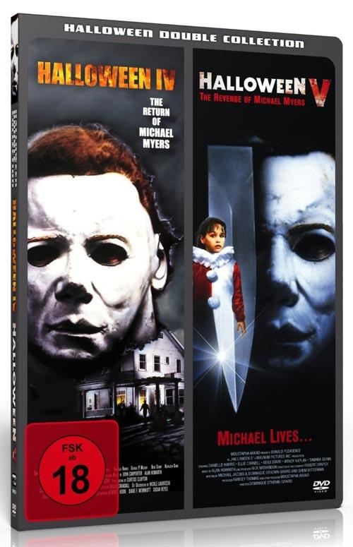DVD Cover: Halloween IV / Halloween V - Halloween Double Collection