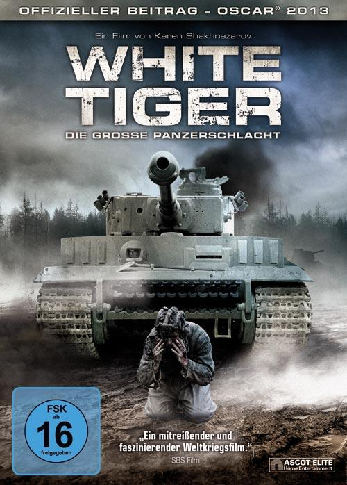 DVD Cover: White Tiger