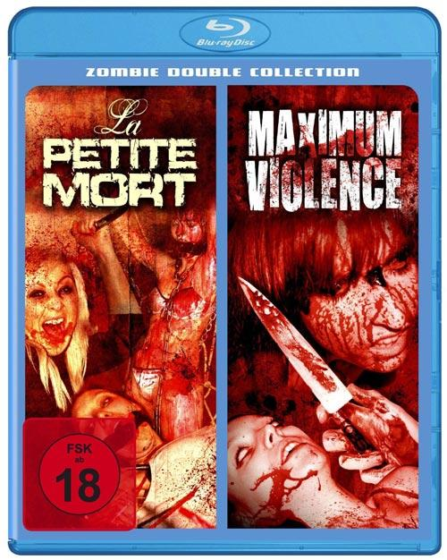 DVD Cover: La Petite Mort & Maximum Violence - Splatter Double Collection