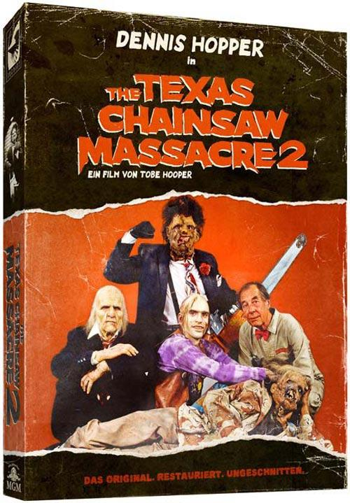 DVD Cover: The Texas Chainsaw Massacre 2