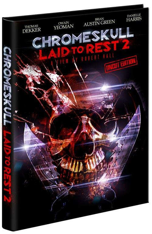 DVD Cover: Chromeskull: Laid to Rest 2 - uncut Edition
