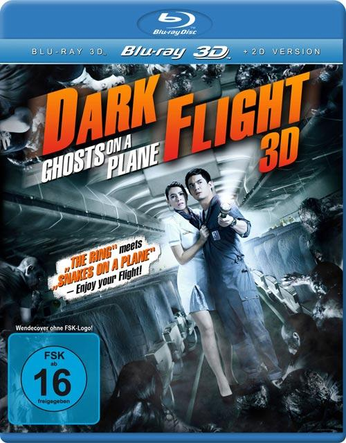 DVD Cover: Dark Flight  - Ghosts on a Plane - 3D