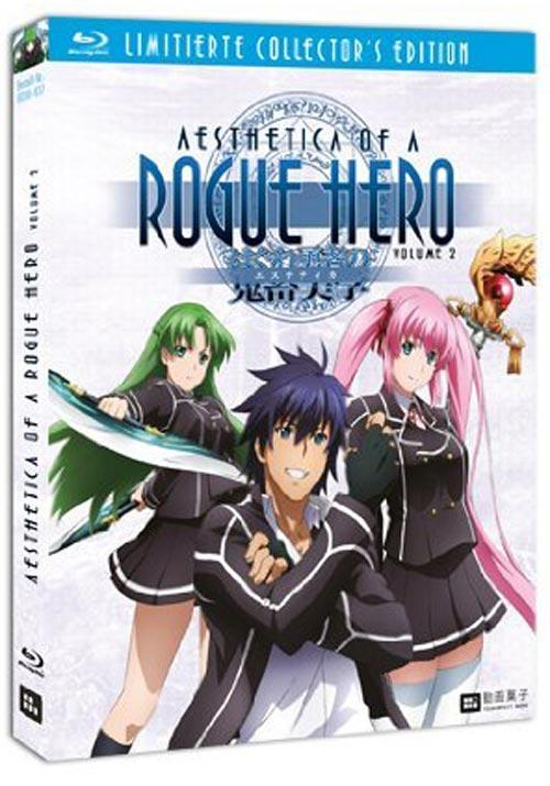 DVD Cover: Aesthetica of a Rogue Hero, Vol. 2 - Limited Collector's Edition