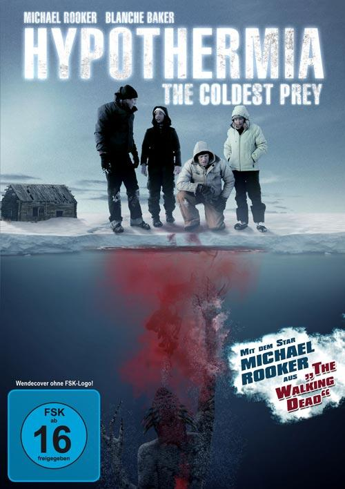 DVD Cover: Hypothermia - The Coldest Prey