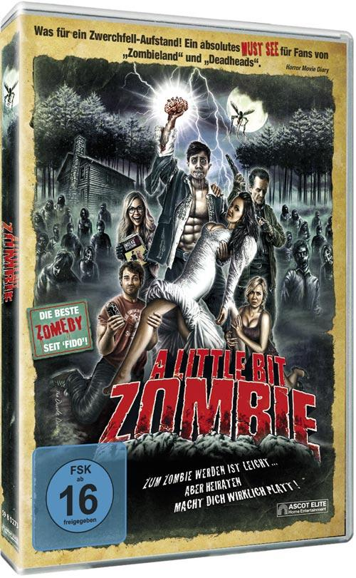 DVD Cover: A little bit Zombie