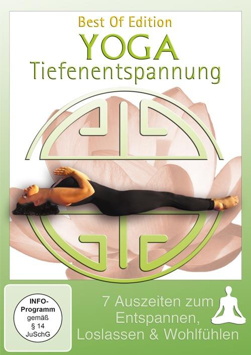 DVD Cover: Yoga Tiefenentspannung