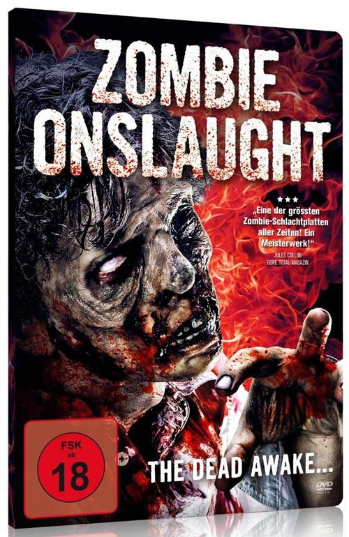 DVD Cover: Zombie Onslaught