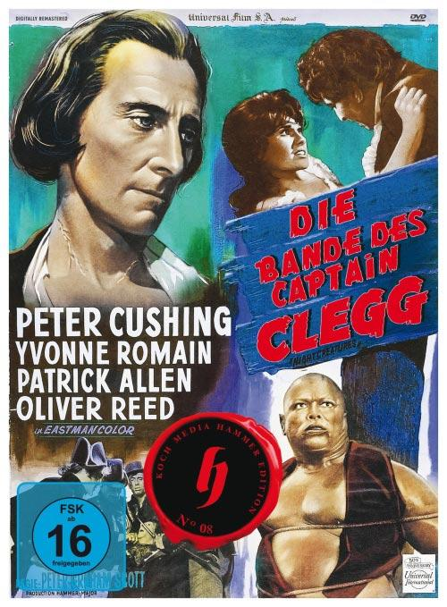 DVD Cover: Die Bande des Captain Clegg - Hammer Collection - Neuauflage