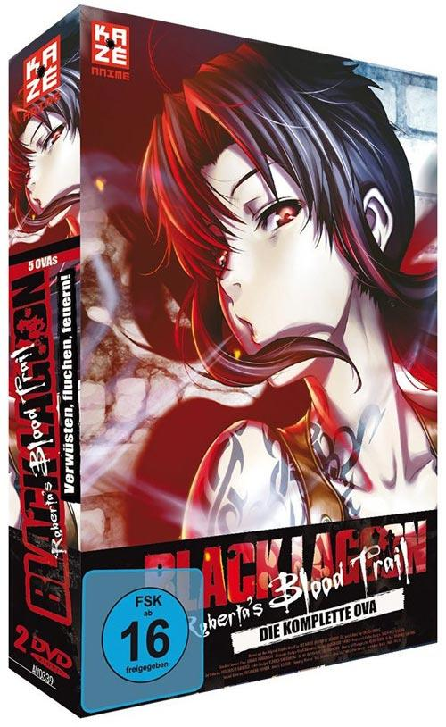 DVD Cover: Black Lagoon: Robertas Blood Trail - Die komplette OVA