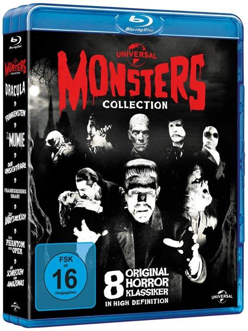DVD Cover: Universal Monsters Collection