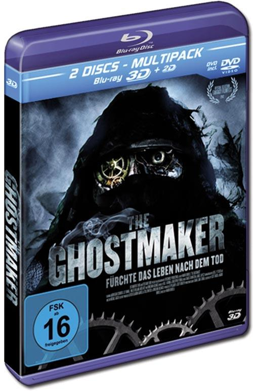 DVD Cover: The Ghostmaker - 3D - Muktipack