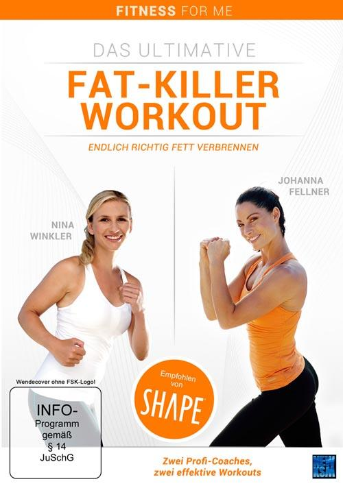 DVD Cover: Das ultimative Fat-Killer Workout - Endlich richtig Fett verbrennen