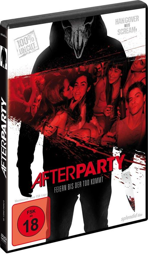 DVD Cover: Afterparty - Feiern bis der Tod kommt