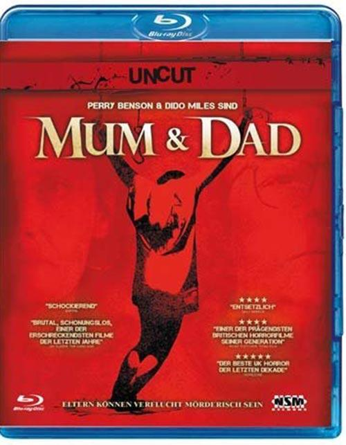 DVD Cover: Mum & Dad - Uncut
