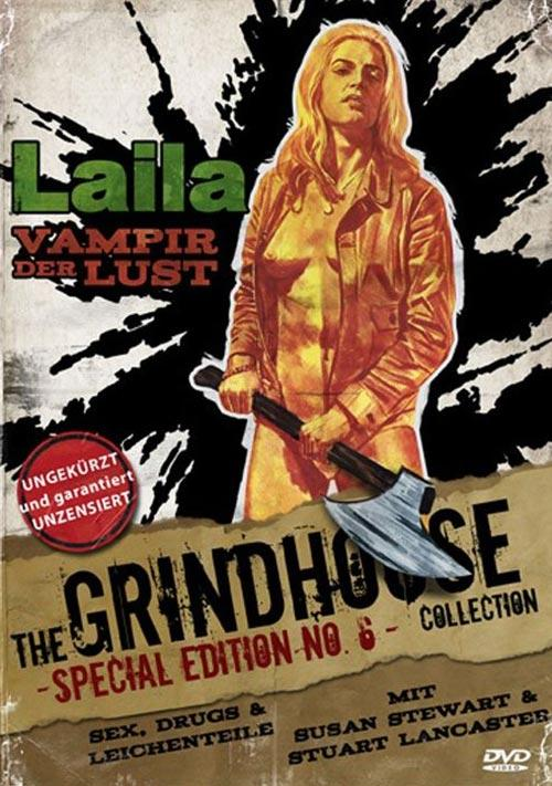 DVD Cover: Laila - Vampir der Lust - The Grindhouse Collection - Special Edition No.6