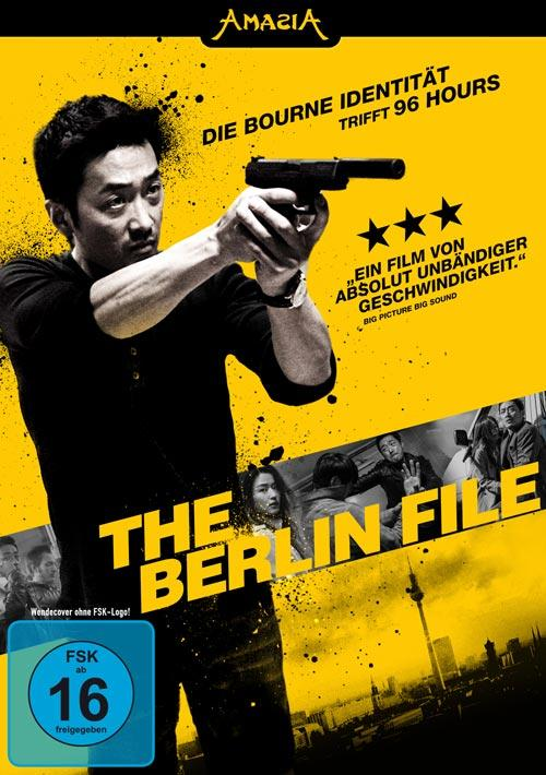 DVD Cover: The Berlin File