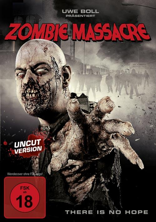 DVD Cover: Zombie Massacre - uncut Version