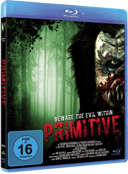 DVD Cover: Primitive