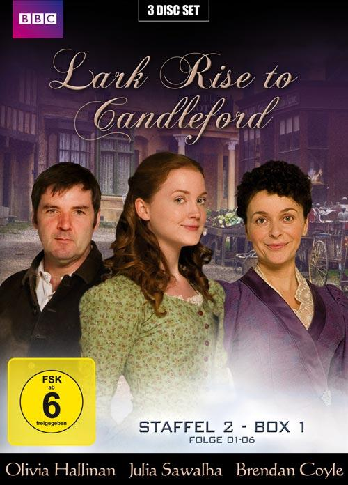 DVD Cover: Lark Rise to Candleford - Staffel 2 - Box 1