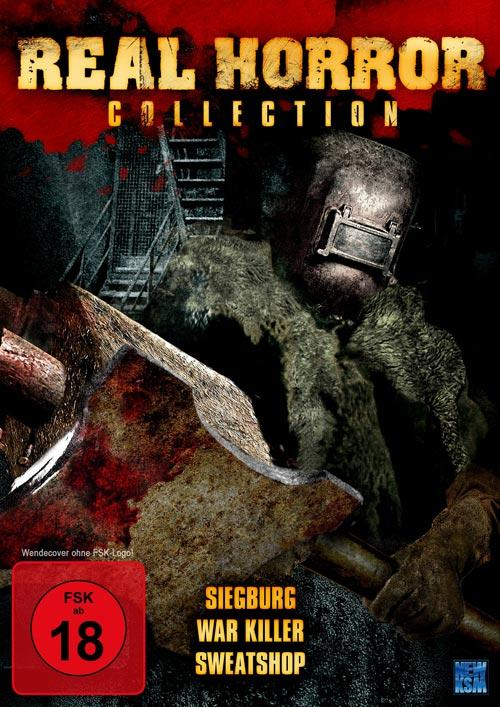 DVD Cover: Real Horror Collection