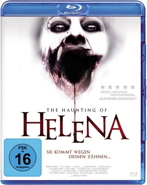 DVD Cover: The Haunting of Helena