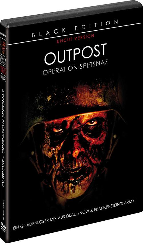 DVD Cover: Outpost - Operation Spetsnaz - Black Edition