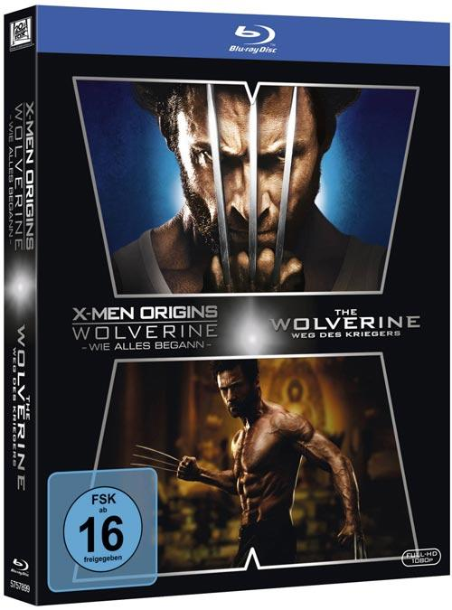 DVD Cover: Wolverine - 2-Film-Set