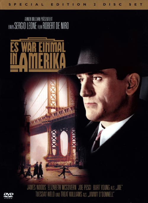 DVD Cover: Es war einmal in Amerika - Special Edition