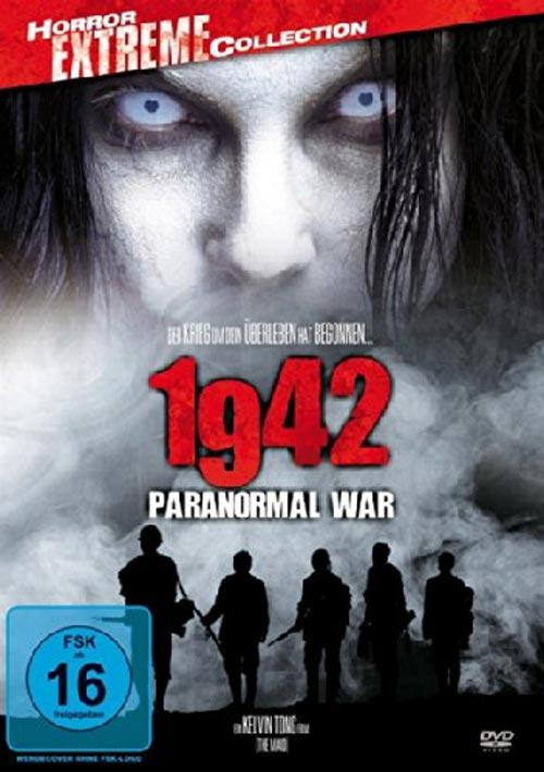 DVD Cover: 1942 - Paranormal War - Horror Extreme Collection