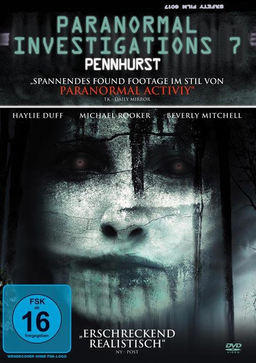 DVD Cover: Paranormal Investigations 7 - Pennhurst