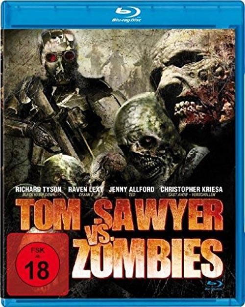 DVD Cover: Tom Sawyer Vs. Zombies