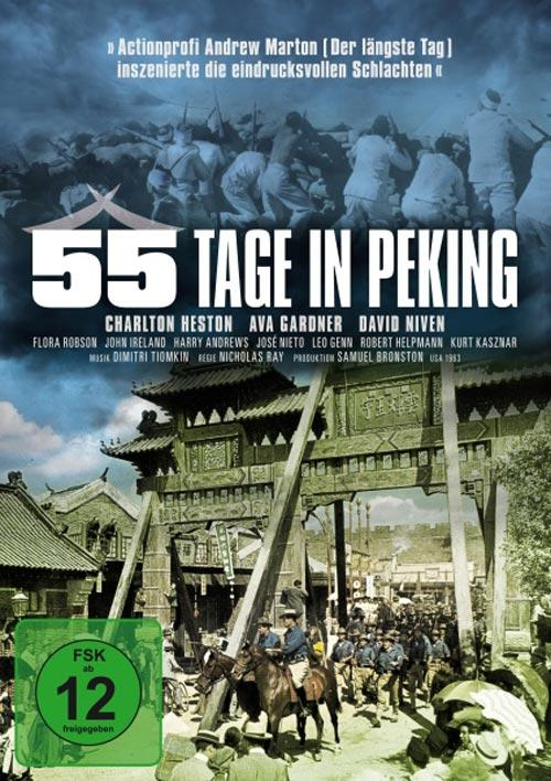 DVD Cover: 55 Tage in Peking