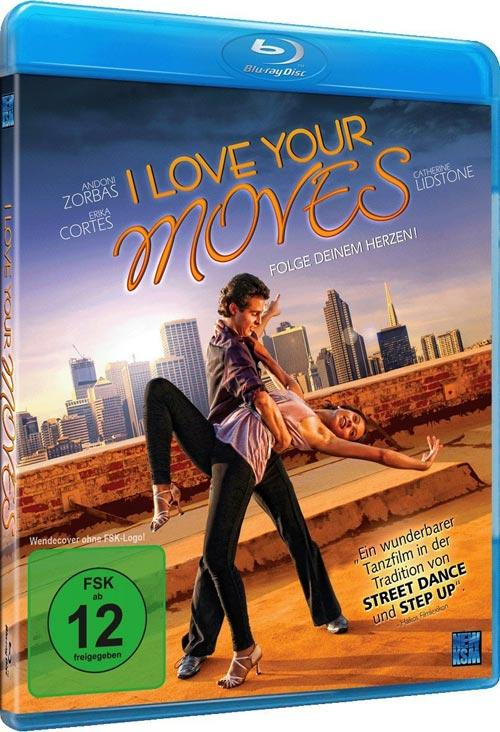 DVD Cover: I love your Moves