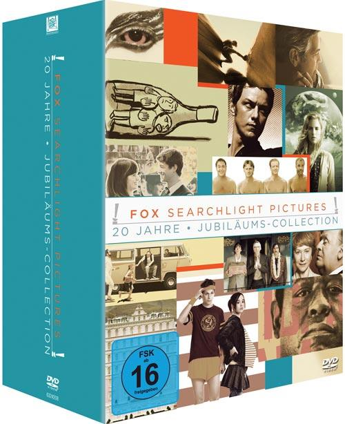 DVD Cover: 20 Jahre Fox Searchlight - Jubiläums Collection