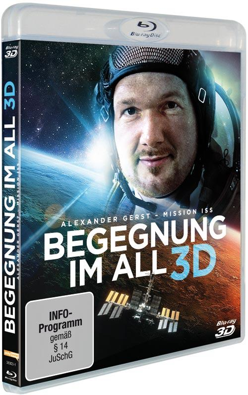 DVD Cover: Begegnung im All - Mission ISS - 3D