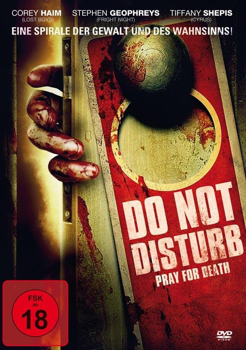 DVD Cover: Do Not Disturb - Pray For Death