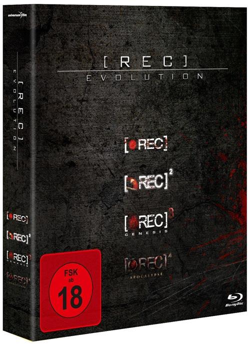 DVD Cover: [Rec] - Evolution
