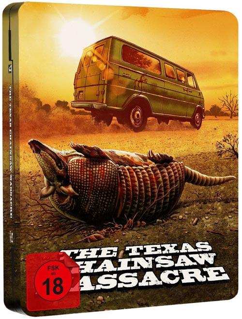 DVD Cover: The Texas Chainsaw Massacre - 40th Anniversary Edition