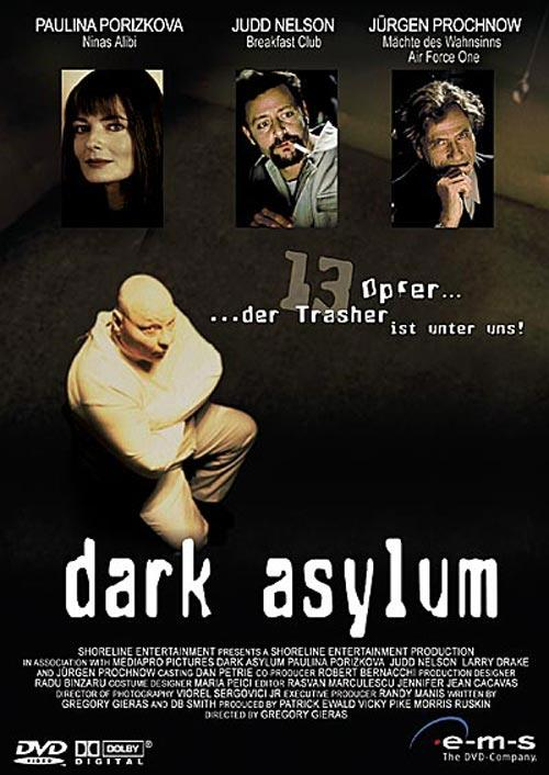 DVD Cover: Dark Asylum