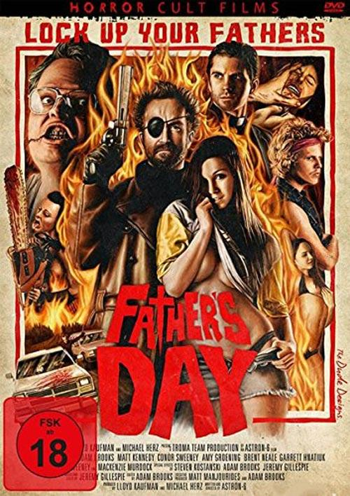 DVD Cover: Father's Day