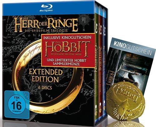 herr der ringe extended dvd