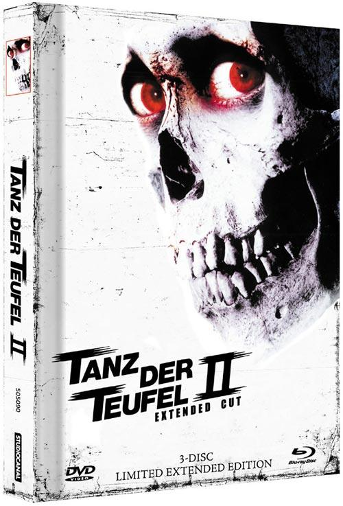 DVD Cover: Tanz der Teufel 2 - Remasterd 3-Disc Extended Edition - Cover C